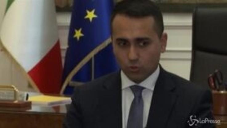 """Di Maio ad Associated Press: """"Non c'è un rischio di Italexit"""""""