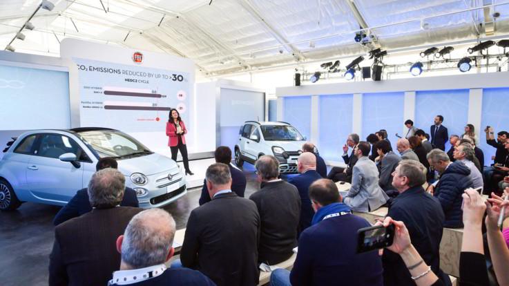 Fiat Panda e 500 Hybrid: le green che guardano al futuro