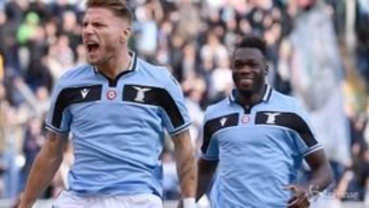 Calcio, la Lazio punta il secondo posto