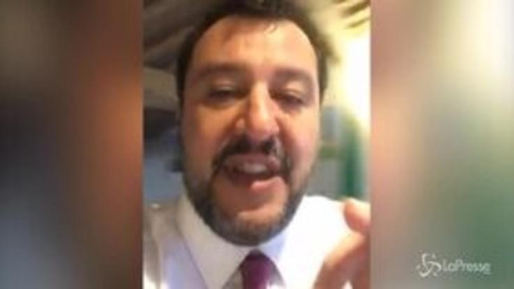"""Migranti, Salvini: """"Senato ha numeri per processarmi ma popolo è con me"""""""