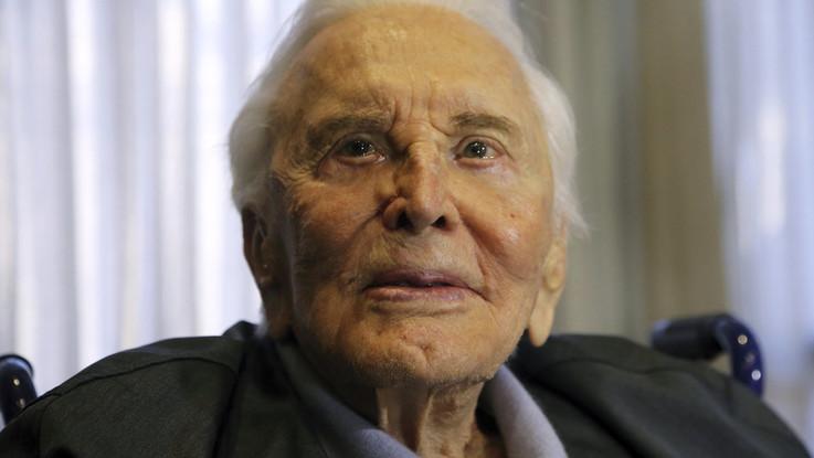 Morto Kirk Douglas: aveva 103 anni
