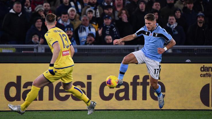 Serie A, Lazio si ferma al palo e resta terza: 0-0 contro il Verona