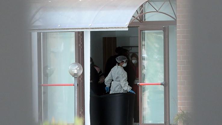 Coronavirus: caso sospetto tra i rimpatriati alla Cecchignola