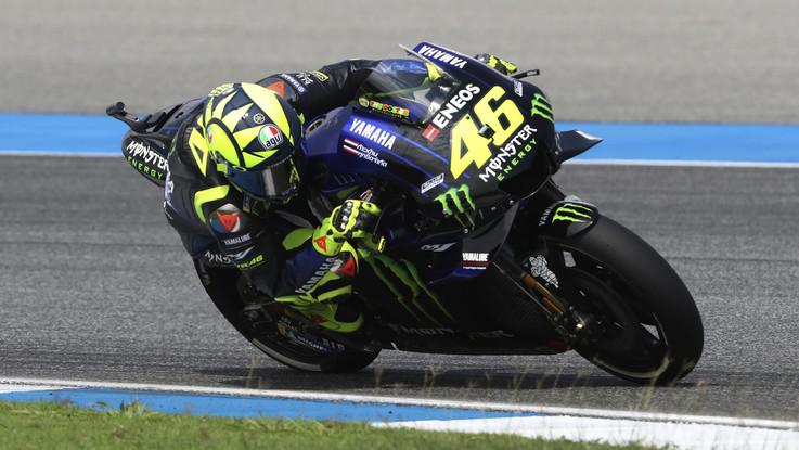 """MotoGp, svelata la Yamaha M1 di Valentino Rossi: """"Continuerò solo se sarò competitivo"""""""