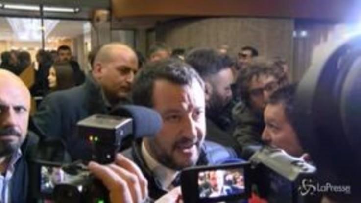 """Salvini a Reggio Calabria: """"Vogliamo convincere coi fatti chi non ci ha votato"""""""