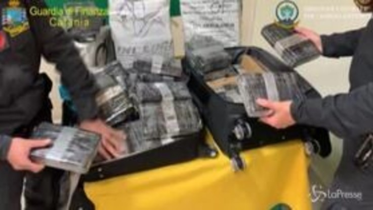 Maxi sequestro di cocaina arrivata direttamente dalla Colombia