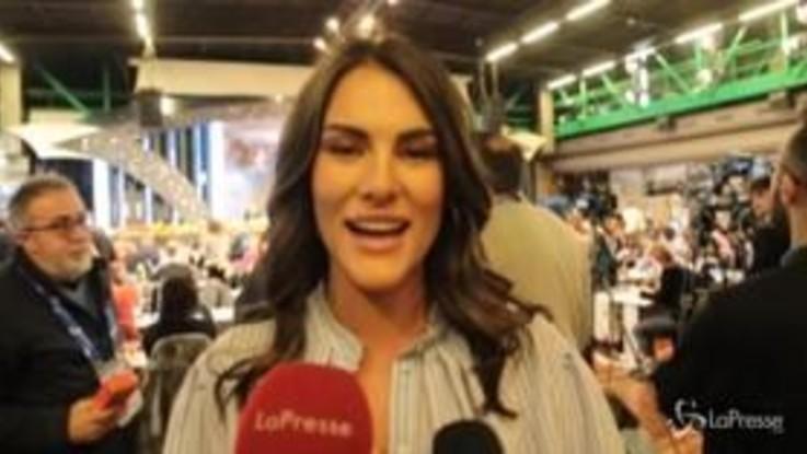 """Sanremo, Francesca Novello: """"Amadeus non mi ha offeso, ho detto io che sto un passo dietro a Valentino"""""""