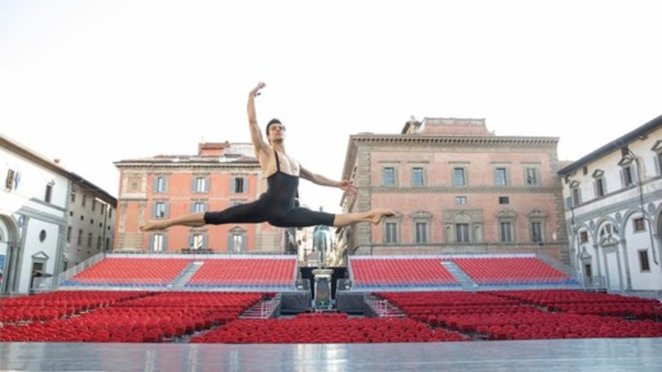 Roberto Bolle sceglie ancora Musart Festival a Firenze per il tour estivo 2020