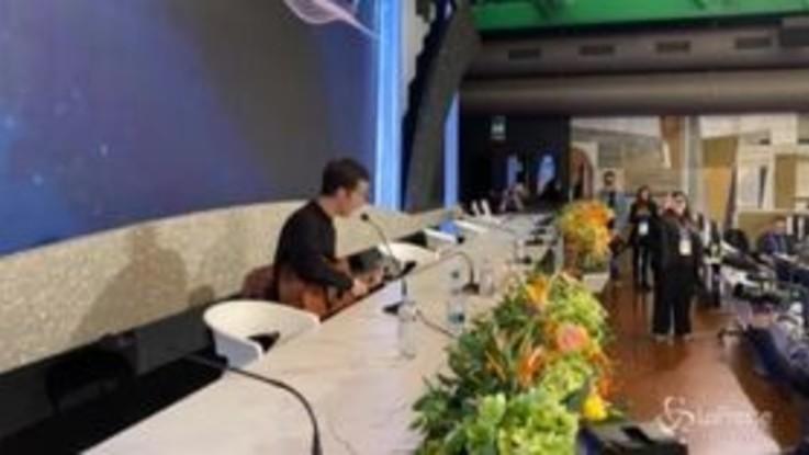 Sanremo, Diodato show in conferenza stampa