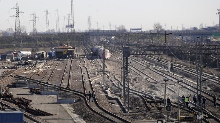 Treno deragliato: 5 operai indagati