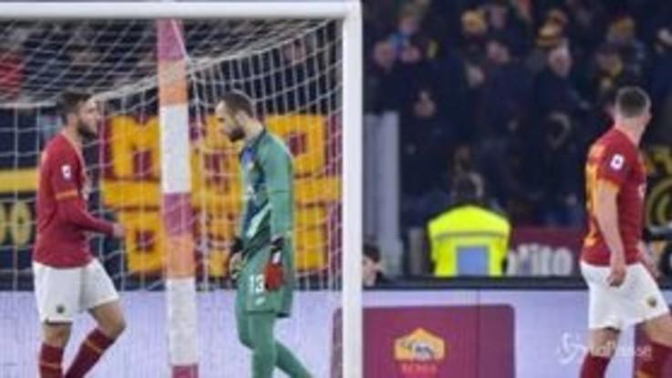 Serie A, il Bologna stende la Roma all'Olimpico