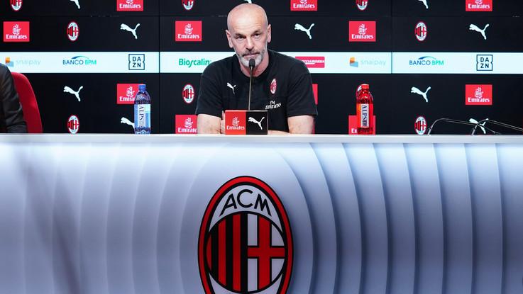 """Milan, Pioli: """"Il derby si gioca per vincere"""""""