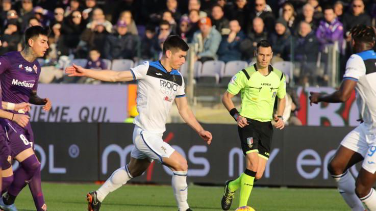 L'Atalanta espugna il Franchi: 2-1 alla Fiorentina