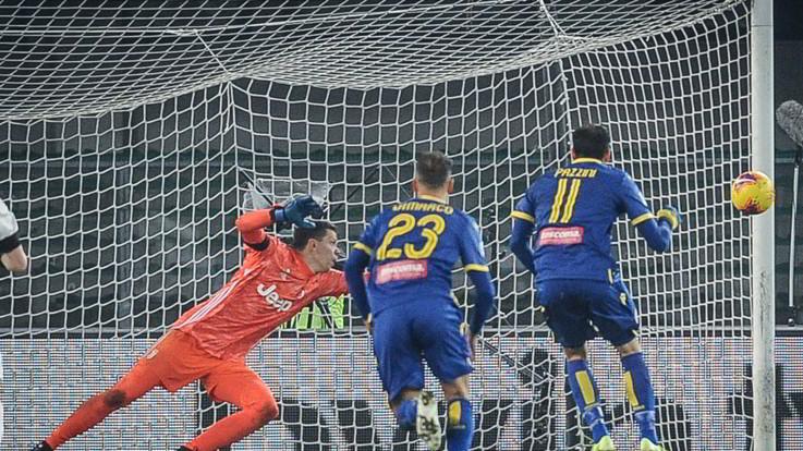La Juve cade a Verona: l'Hellas vince 2-1