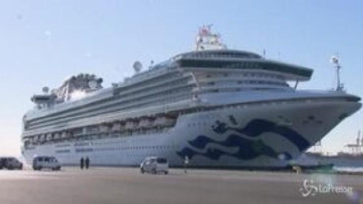 Coronavirus, altri 6 contagiati su nave crociera in Giappone: 70 in tutto