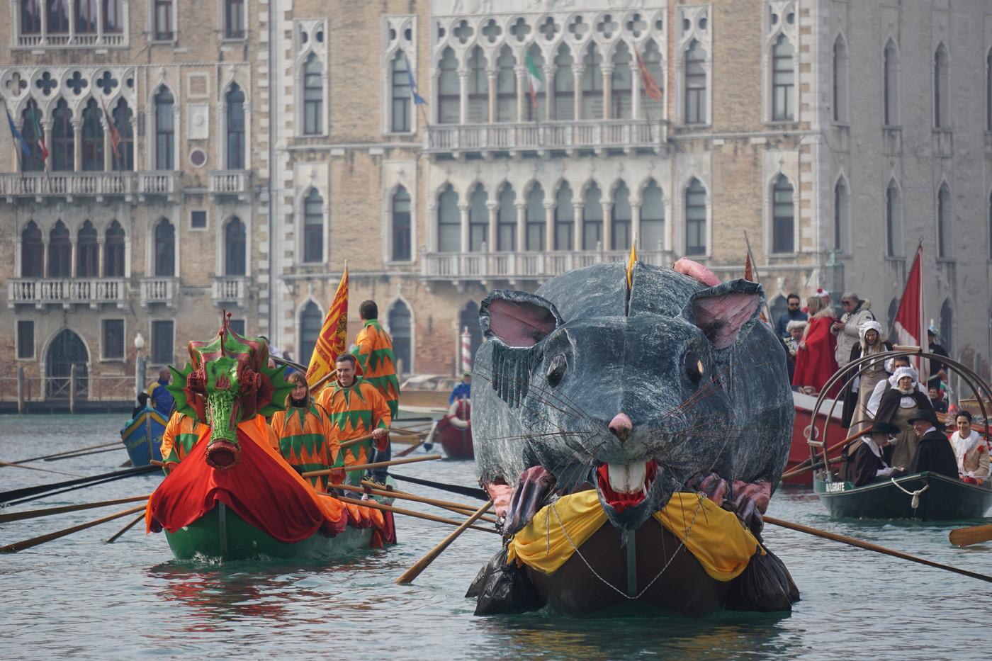 Carnevale di Venezia, la Regata della Pantegana