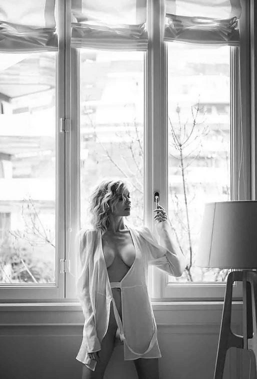 Justine Mattera, trasparenze hot su Instagram