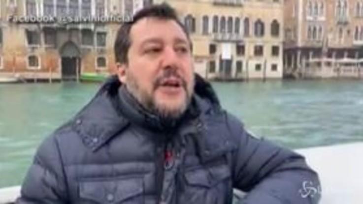 """Gregoretti, Salvini: """"Processo privo di fondamento ma io non scappo"""""""