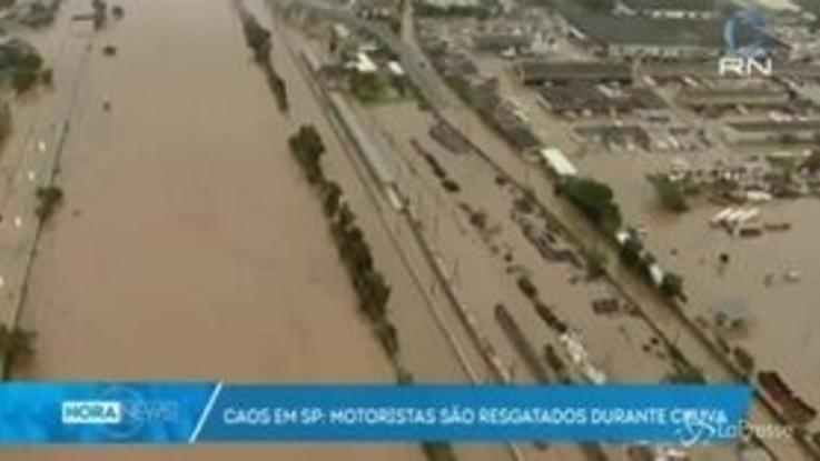 Brasile: gravi inondazioni a San Paolo