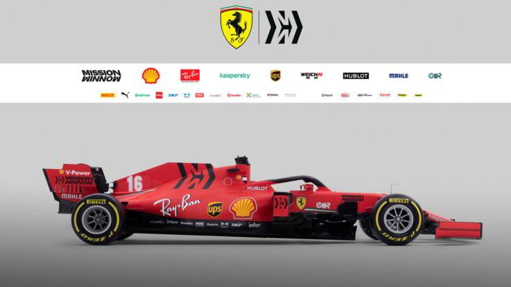 F1, svelata la Ferrari SF1000 che gareggerà nel mondiale 2020