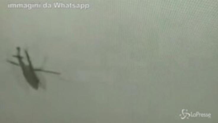 Kobe Bryant, le immagini dello schianto dell'elicottero