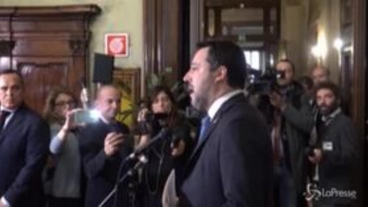 """Gregoretti, Salvini: """"Io non scappo e attendo sereno il giudizio"""""""