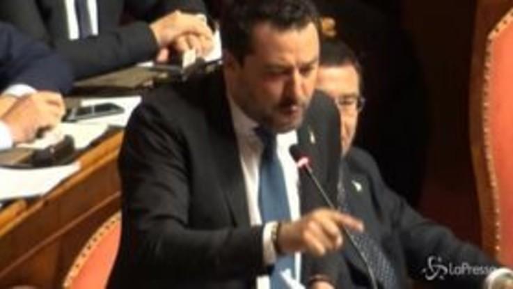 """Gregoretti, Salvini al governo: """"State sequestrando gli italiani e i liguri"""""""