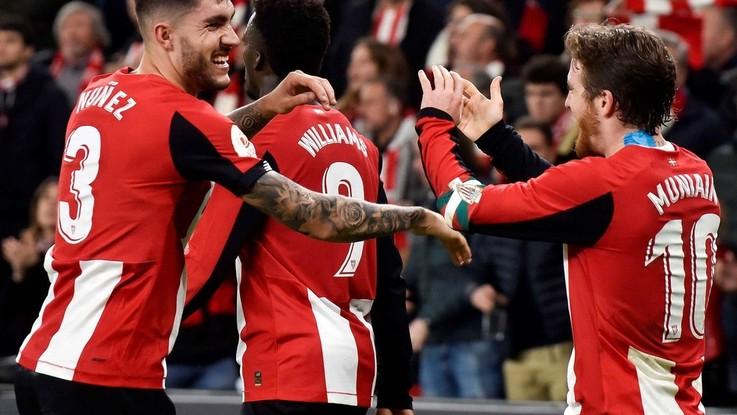 Coppa del Re: il Bilbao supera il Granada nella semifinale d'andata