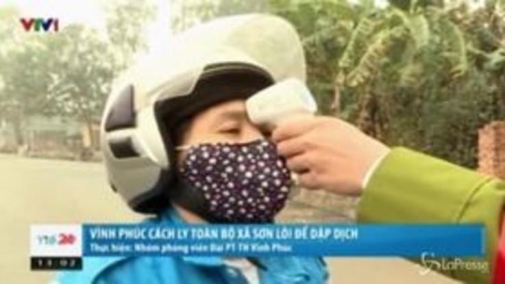 Coronavirus, messa in quarantena un'intera città in Vietnam