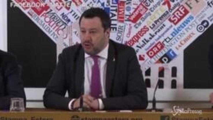 """Caso Gregoretti, Salvini: """"Verrò assolto"""""""