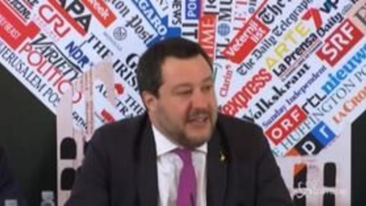 """Caso Gregoretti, Salvini: """"Vorrei vincere le elezioni per programmi non per processi"""""""