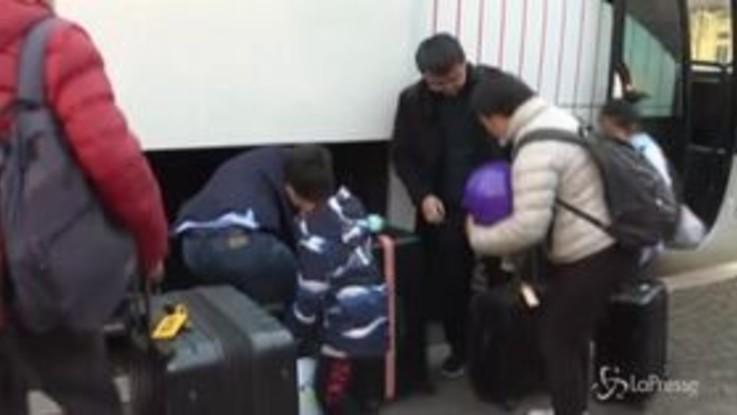 Coronavirus: finita la quarantena, i cinesi dimessi dallo Spallanzani