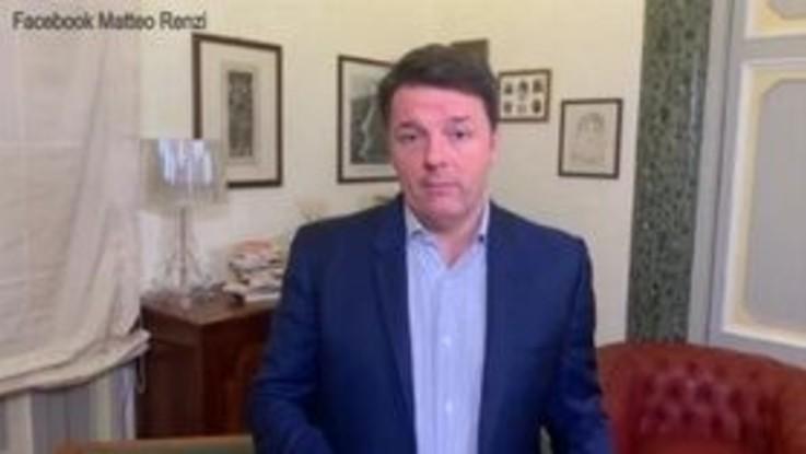 """Renzi: """"A Conte non diciamo di aprire la crisi, ma i cantieri"""""""