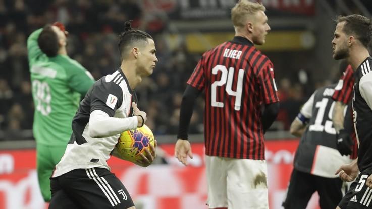 Calcio, Coppa Italia: Milan-Juventus 1-1 il finale