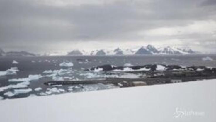 Clima, oltre 20 gradi in Antartide