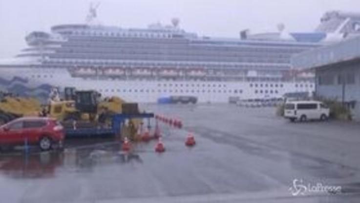 Coronavirus: la nave bloccata a Yokohama da oltre 10 giorni