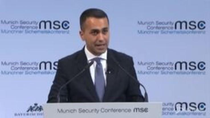 """Libia, Di Maio: """"Missione Ue per bloccare ingresso armi"""""""