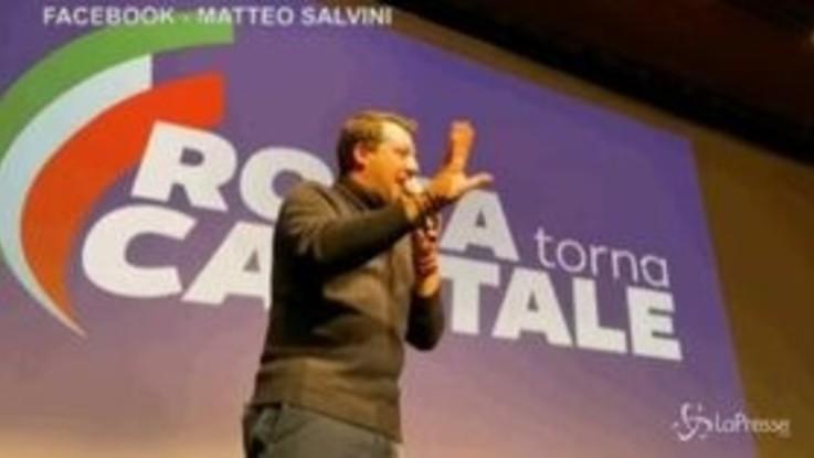 """Salvini: """"Preferisco perdere il derby, ma mandare a casa Conte"""""""