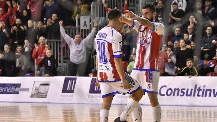 Calcio a 5, Serie A: l'A&S crolla a un passo dal record. Pesaro sempre più prima
