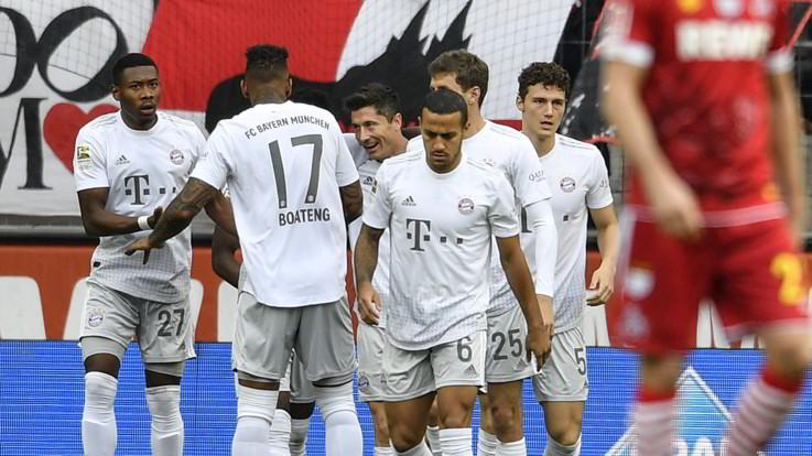 Bundesliga, il Bayern torna in vetta. Nessun gol tra Mainz e Schalke