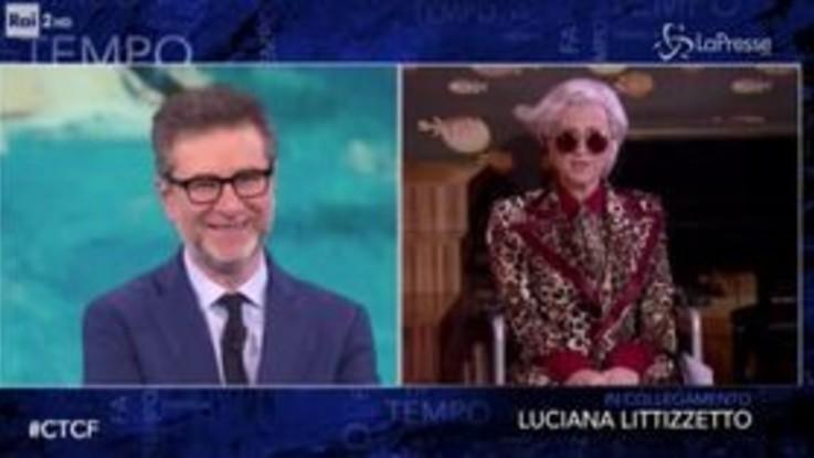 'Che Tempo Che Fa', Luciana Littizzetto imita Morgan