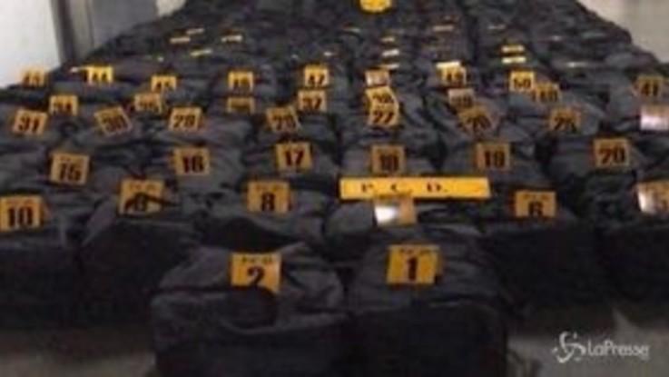 Maxi sequestro di cocaina in Costa Rica: 5 tonnellate destinate all'Olanda