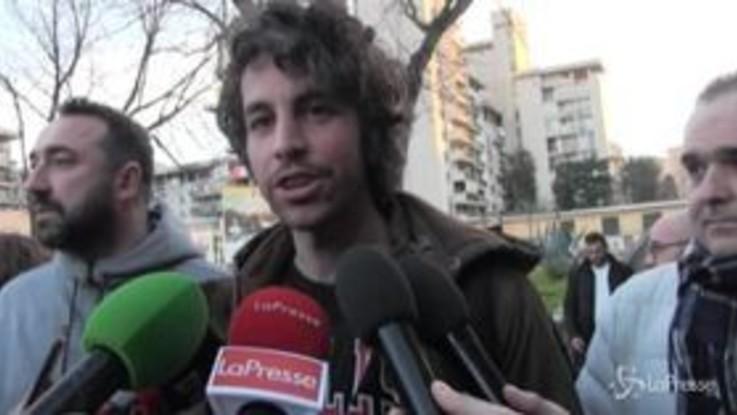 """Sardine, Santori a Scampia: """"Dobbiamo ripetere l'operazione Bibbiano, qui c'è cittadinanza attiva"""""""