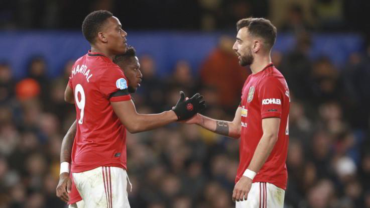 Premier, il Manchester United espugna 2-0 Stamford Bridge