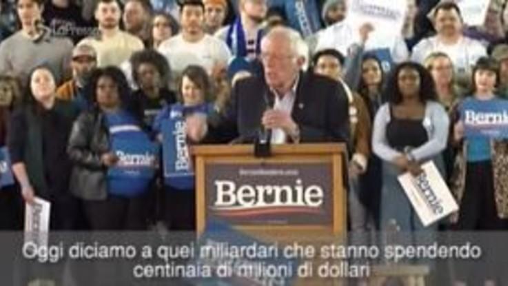 """Usa 2020, Sanders accusa Bloomberg: """"Cerca di comprare la presidenza"""""""
