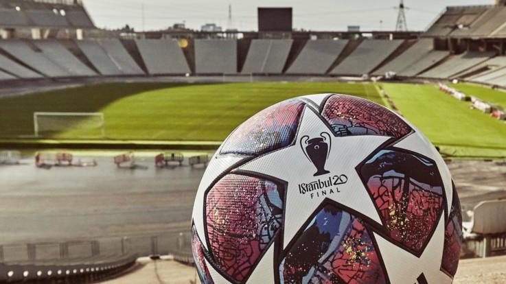 Champions: svelato 'Istanbul 20', il pallone ufficiale della finale