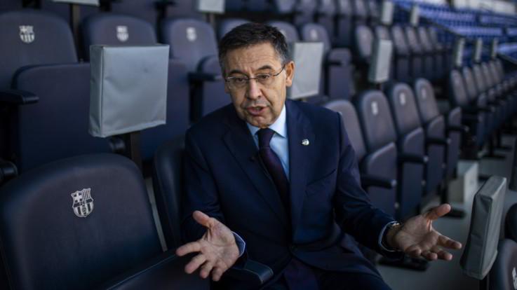 """Barça, Bartomeu: """"Attacchi social? Mai pagato per screditare nessuno"""""""