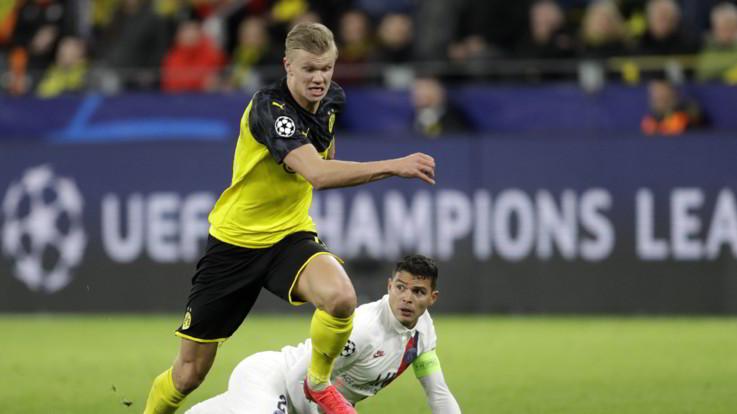 Champions, Liverpool cade a Madrid. Haaland stende Psg: il Dortmund vince