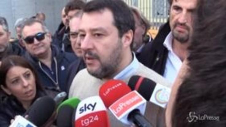"""Tensione Conte-Renzi, Salvini: """"Hanno stufato, prima si vota meglio è"""""""