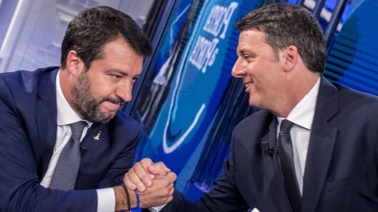 Sondaggi: Renzi e Salvini calano ancora, avanzano Fratelli d'Italia e Pd
